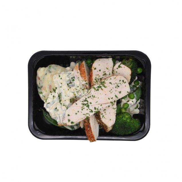 Tasty Roast Chicken | Colcannon | Chardonnay Sauce