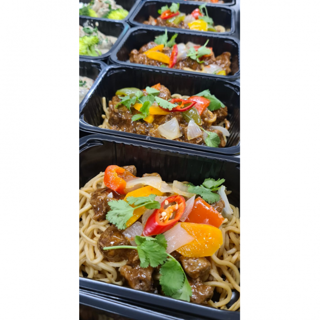 Seared Beef | Black Bean Sauce | Noodles